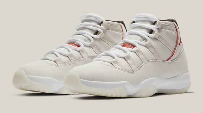 33172863e589f1 An Official Look at the  Platinum Tint  Air Jordan 11