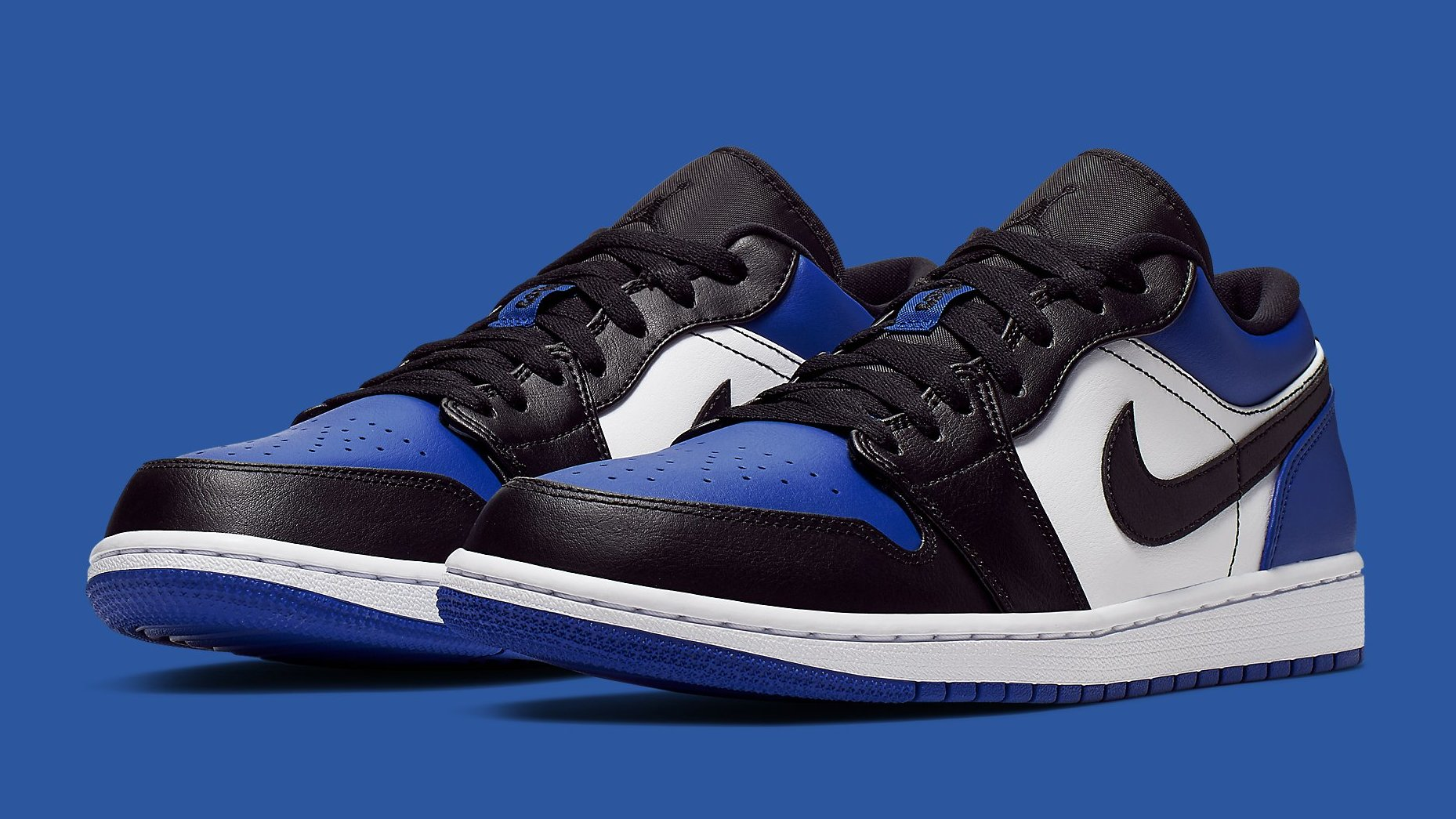 Air Jordan 1 Low Royal Toe Release Date CQ9446-400 | Sole ...