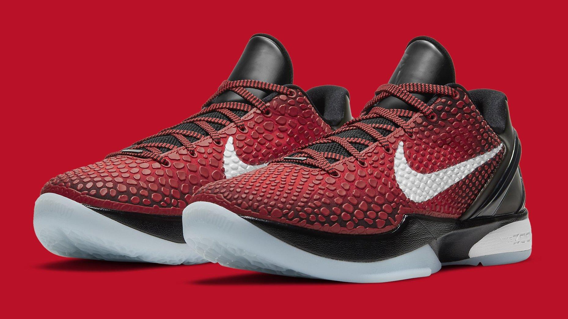 Nike Zoom Kobe 6 Protro Challenge Red/Black/White DH9888-600 ...