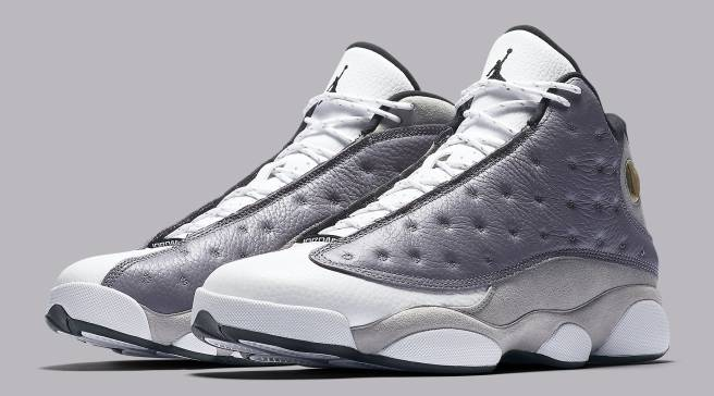 cba7448ce74751 Official Look at the  Atmosphere Grey  Air Jordan 13