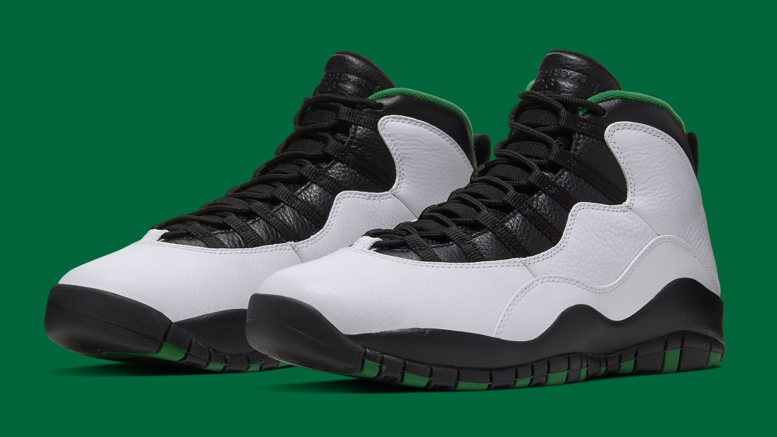 "Air Jordan 10 ""Seattle"" Official Images Revealed: Release Details"