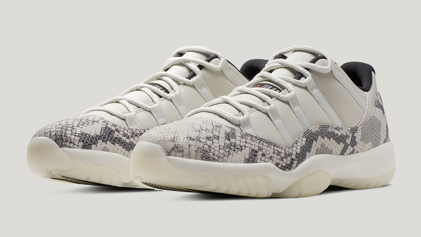 81f6d6e508ae Air Jordan 11 Low SE  Snakeskin  Release Date CD6846-002