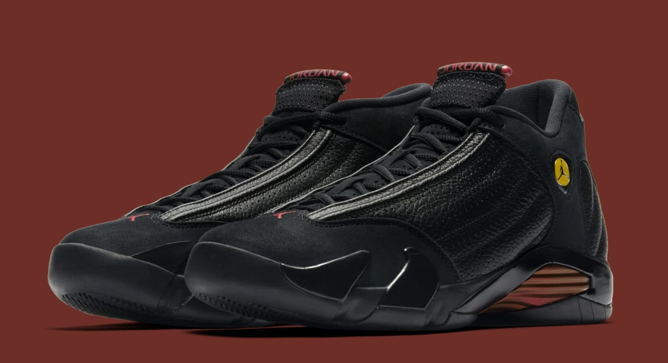 58513dcc3d7b07  Last Shot  Air Jordan 14s Coming Back for 20th Anniversary. Part of Nike s   Art of a Champion  collection.