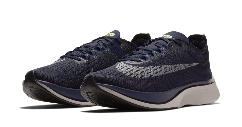 Nike Zoom Vaporfly 4%  Obsidian Metallic Silver  880847-405 Release ... f4a284a25