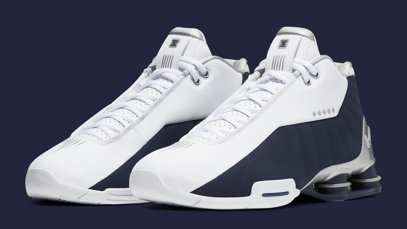 Nike Shox BB4 'Olympic' Release Date AT7843 100 | Sole Collector