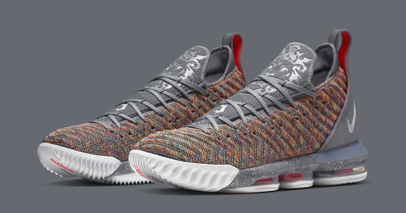 ab81301b0298  Multicolor  LeBron 16s Are Releasing Next Month. Fruity Pebbles vibes.
