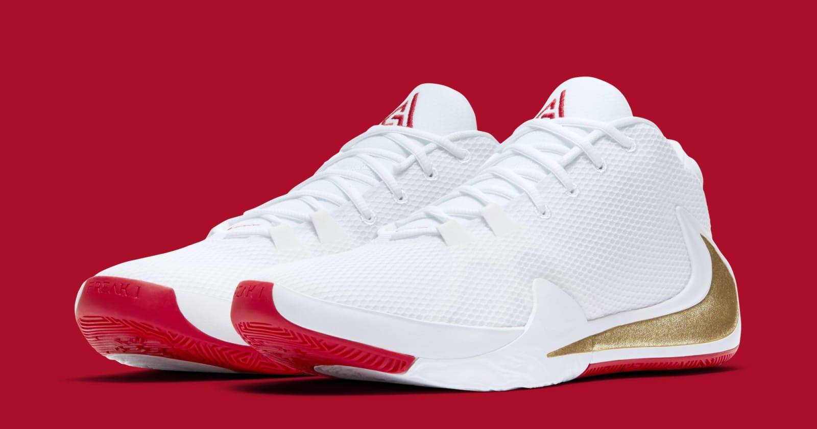 "Giannis' Nike Zoom Freak 1 ""Roses"" Coming Soon: Official Images"