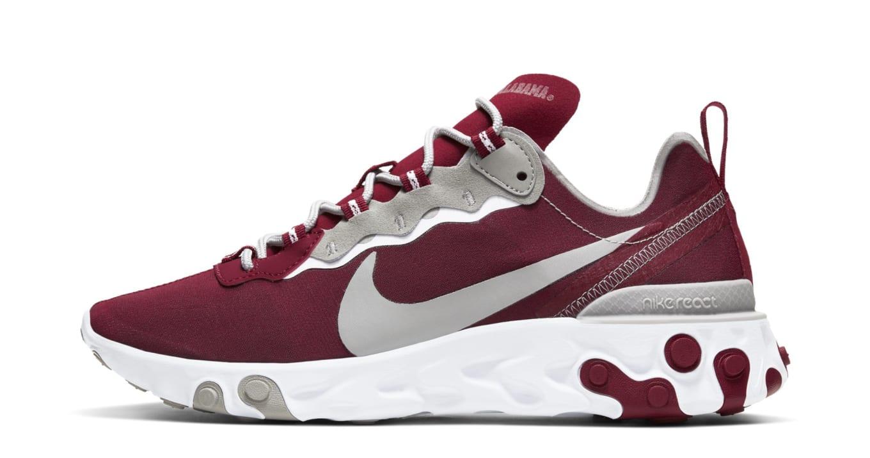 Nike React Element 55 'NCAA Football' Pack Release Date