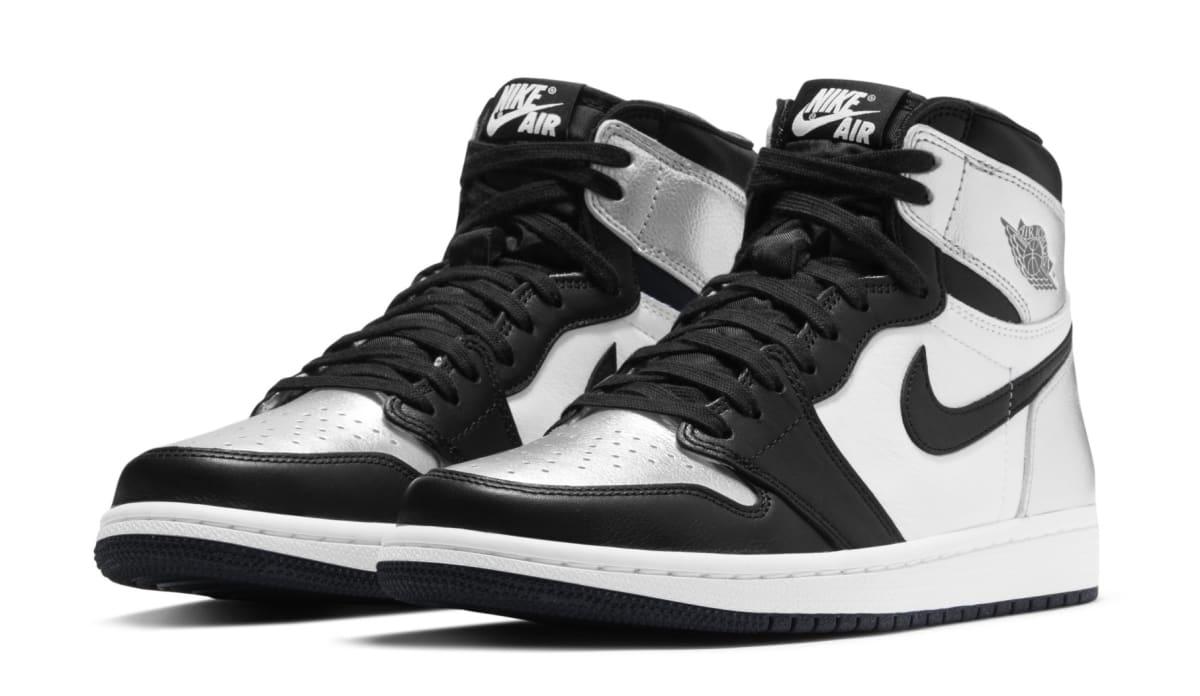 Air Jordan 1 High Women's 'Silver Toe' Release Date CD0461-001 ...