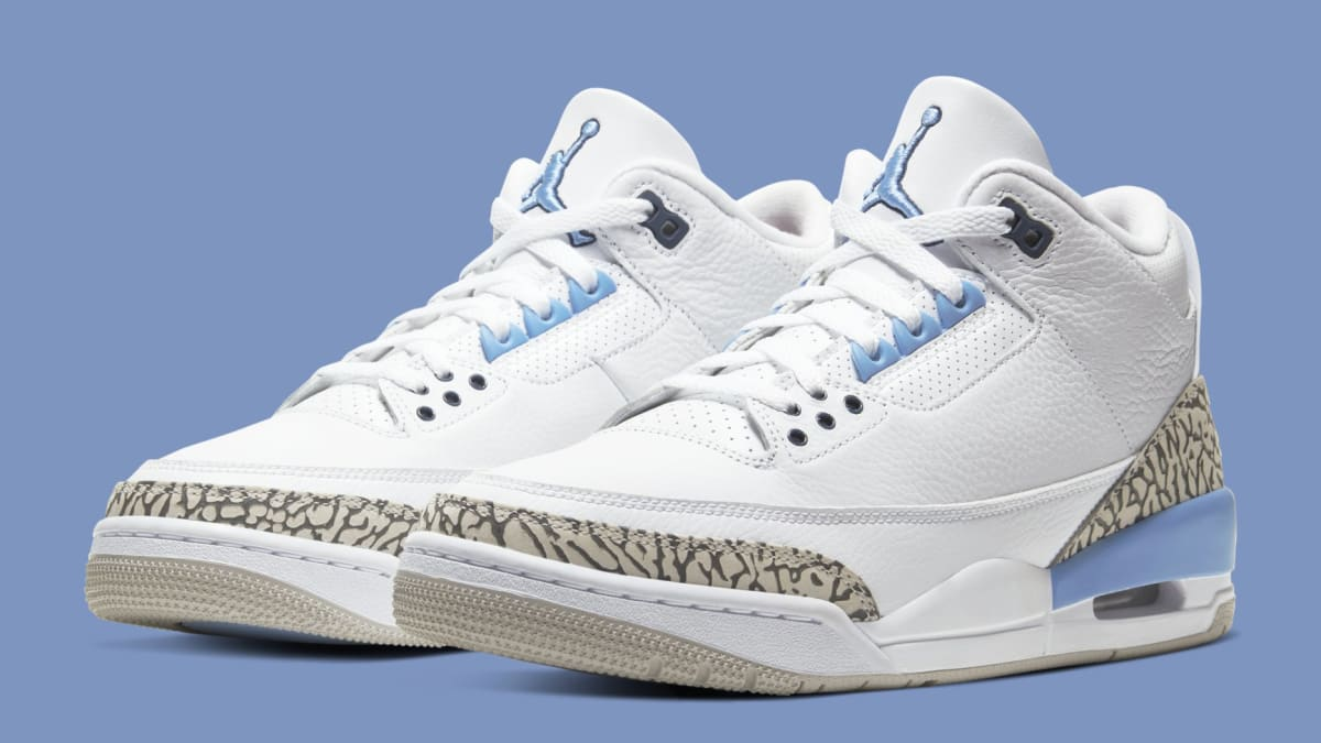 cheapest nice cheap wide range Air Jordan 3 'UNC' Release Date CT8532-104 | Sole Collector