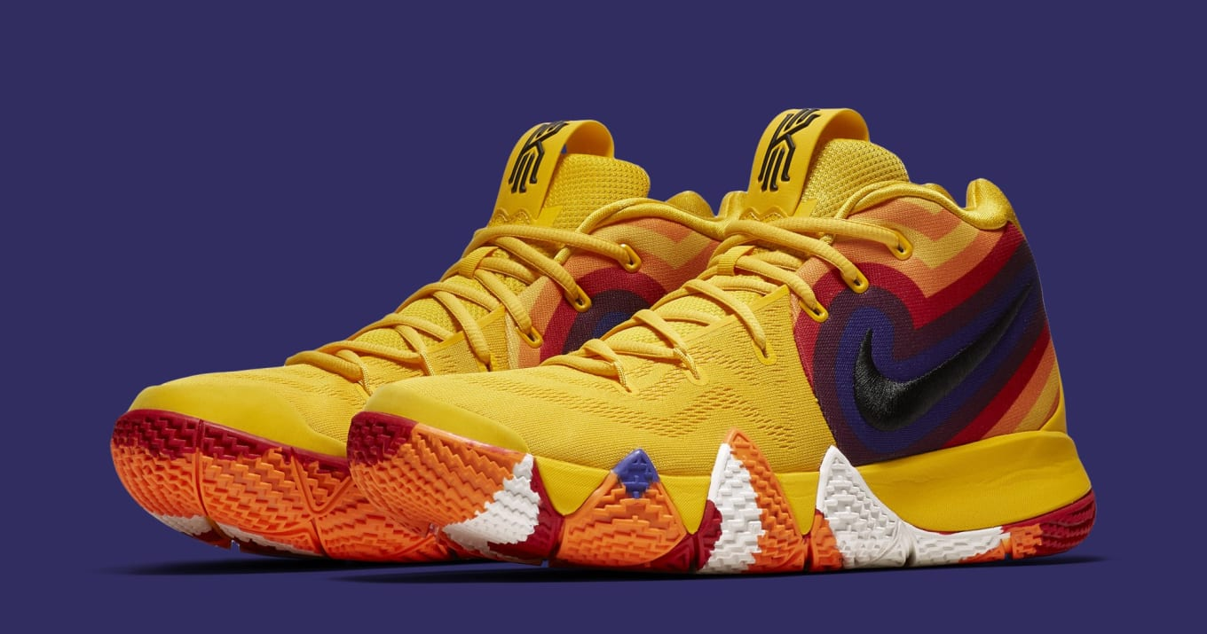 eed1716bb63e Nike Kyrie 4  Yellow Multicolor  Release Date
