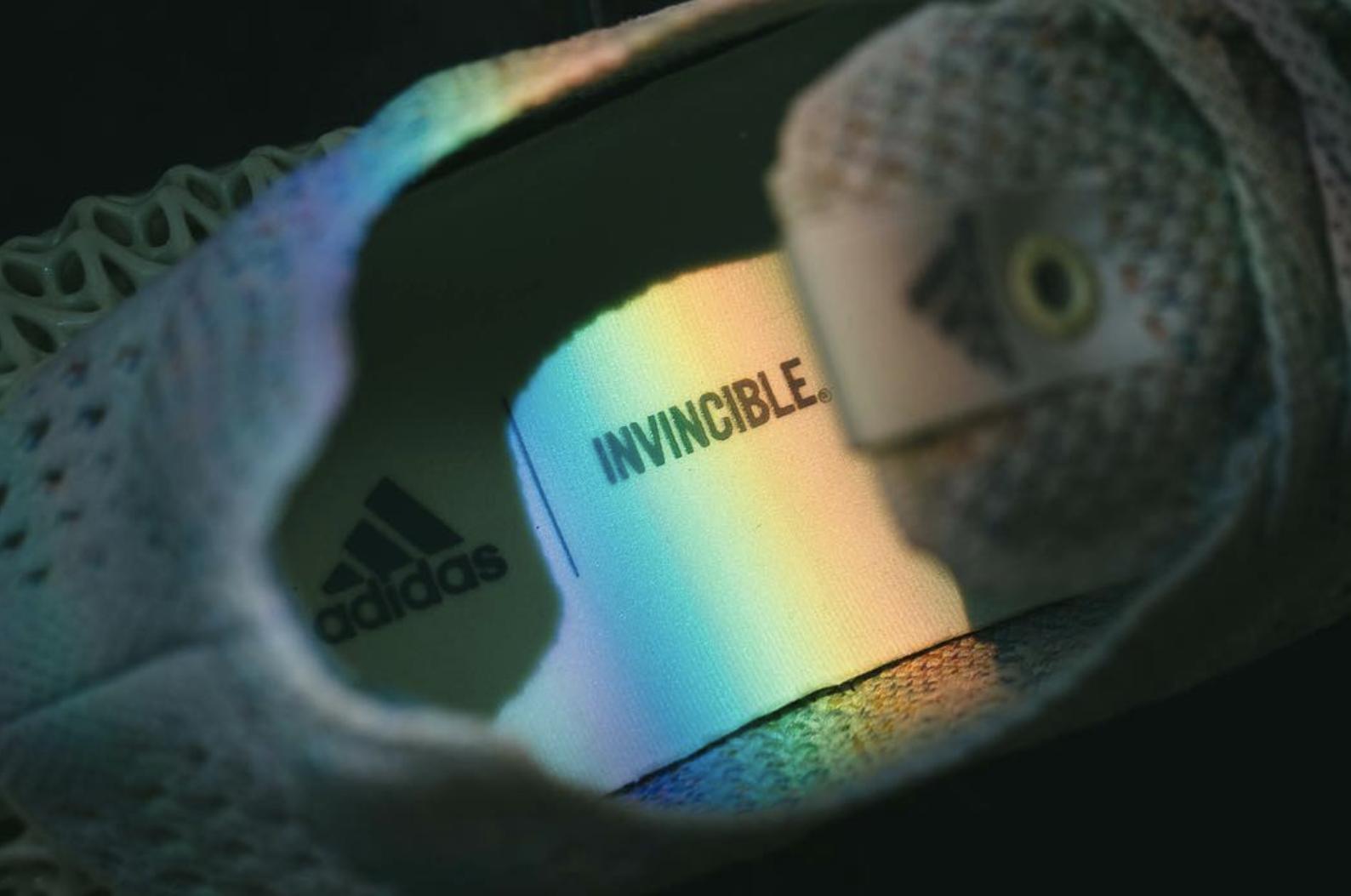 cf1fe6f21fa Invincible x Adidas Consortium 4D Release Date