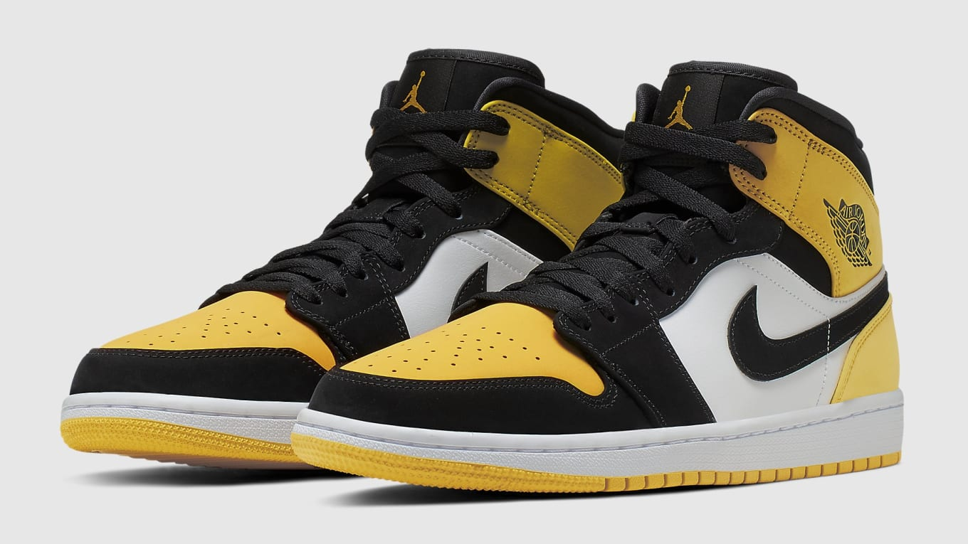 618d4f9caff Air Jordan 1 Mid Yellow Toe Release Date 852542-071 | Sole Collector