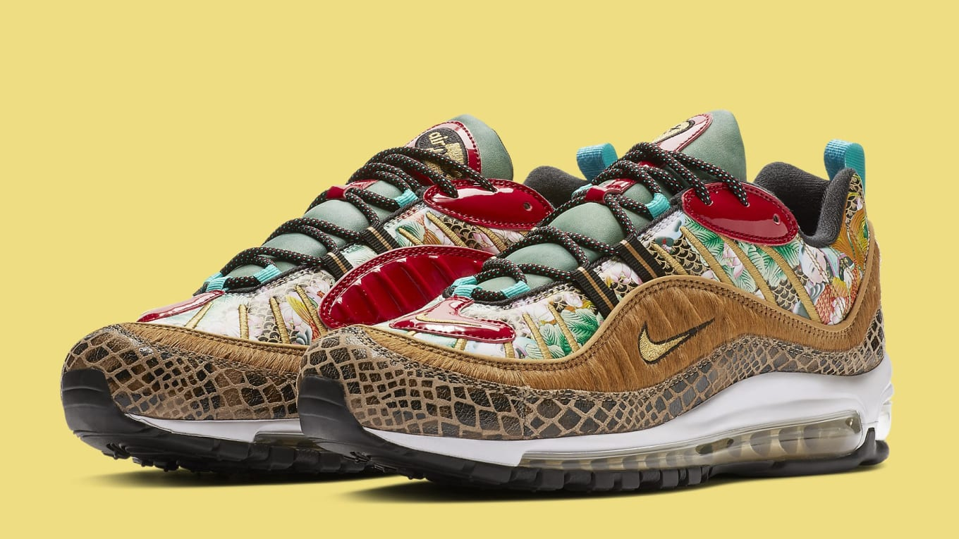 100% authentic 5c514 7bb7b Nike Air Max 98  Chinese New Year  Release Date   Sole Collector