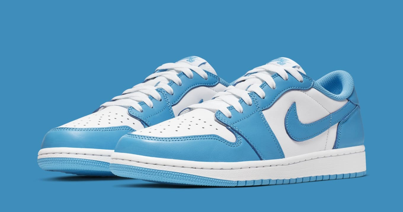 the latest 4a901 09877 Eric Koston x Nike SB x Air Jordan 1 Low x 'Carolina Blue ...