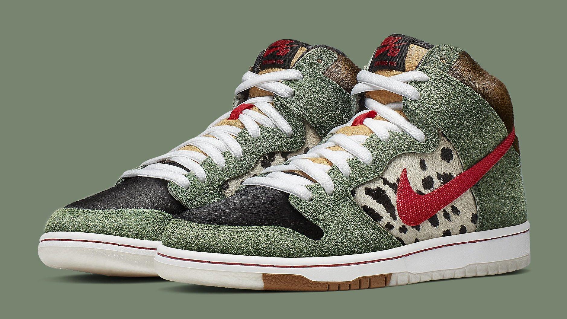 perspectiva Claraboya Conciliador  Nike SB Dunk High 'Dog Walker' Release Date | Sole Collector