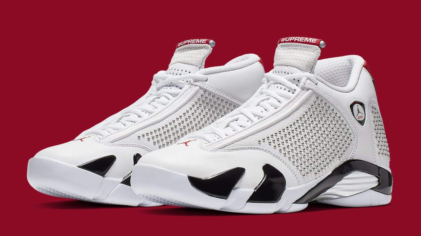 27e0e1983 Supreme x Air Jordan 14 Release Date | Sole Collector