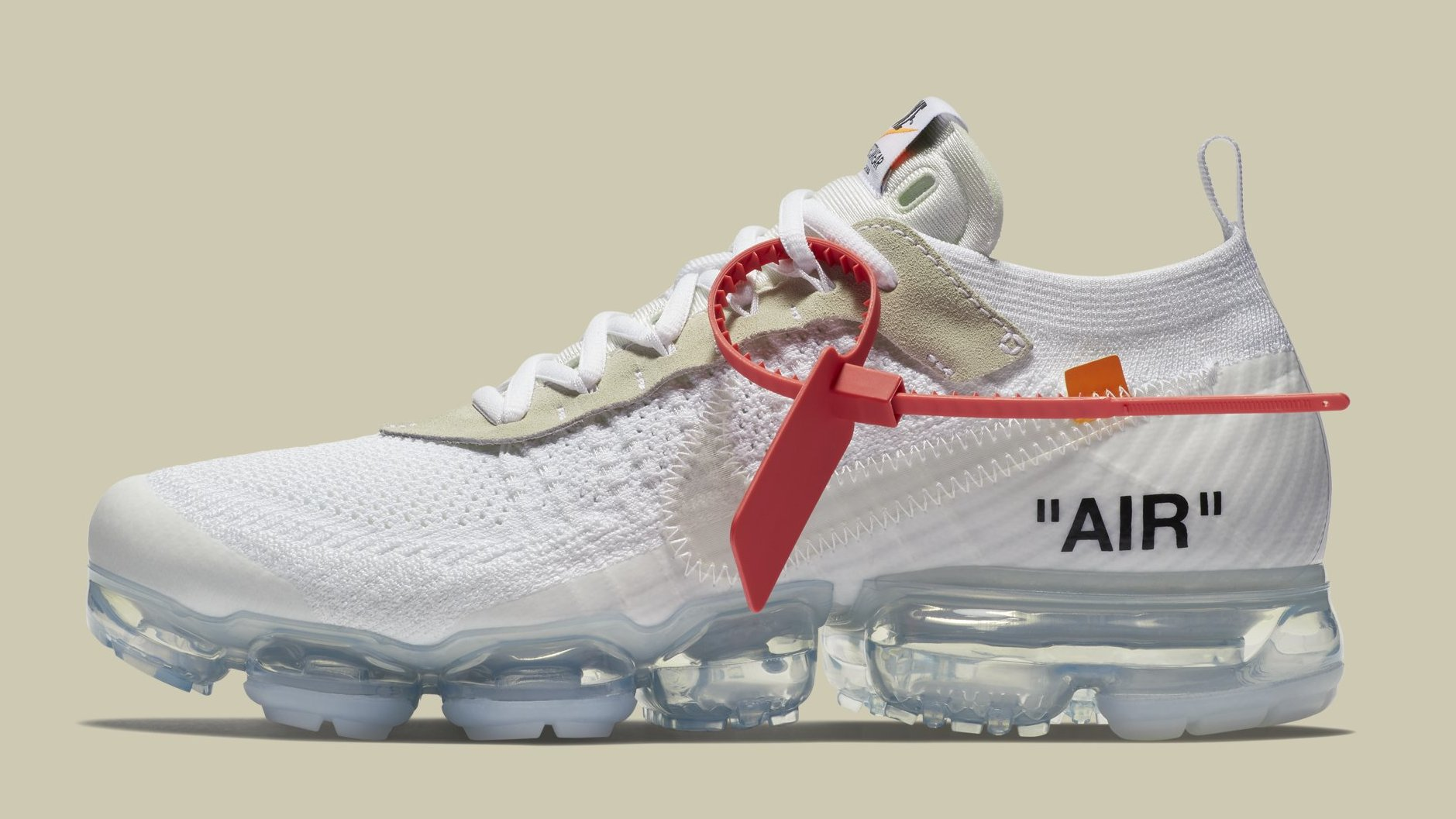 404a2dfeb1a Off-White x Nike Air VaporMax  White Black Total Orange  SNKRS Early Access