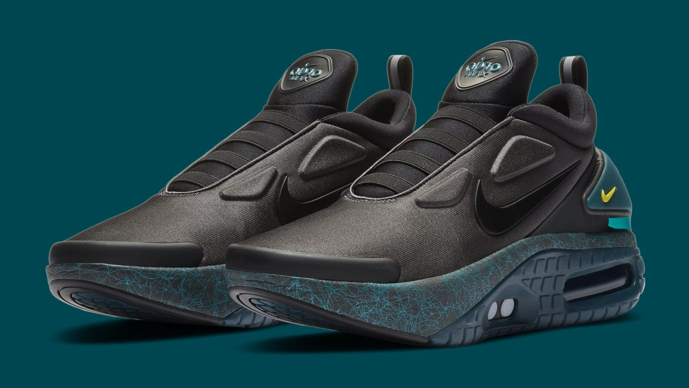 Nike Adapt Auto Max Anthracite Green Release Date Ci5018 001 Sole Collector
