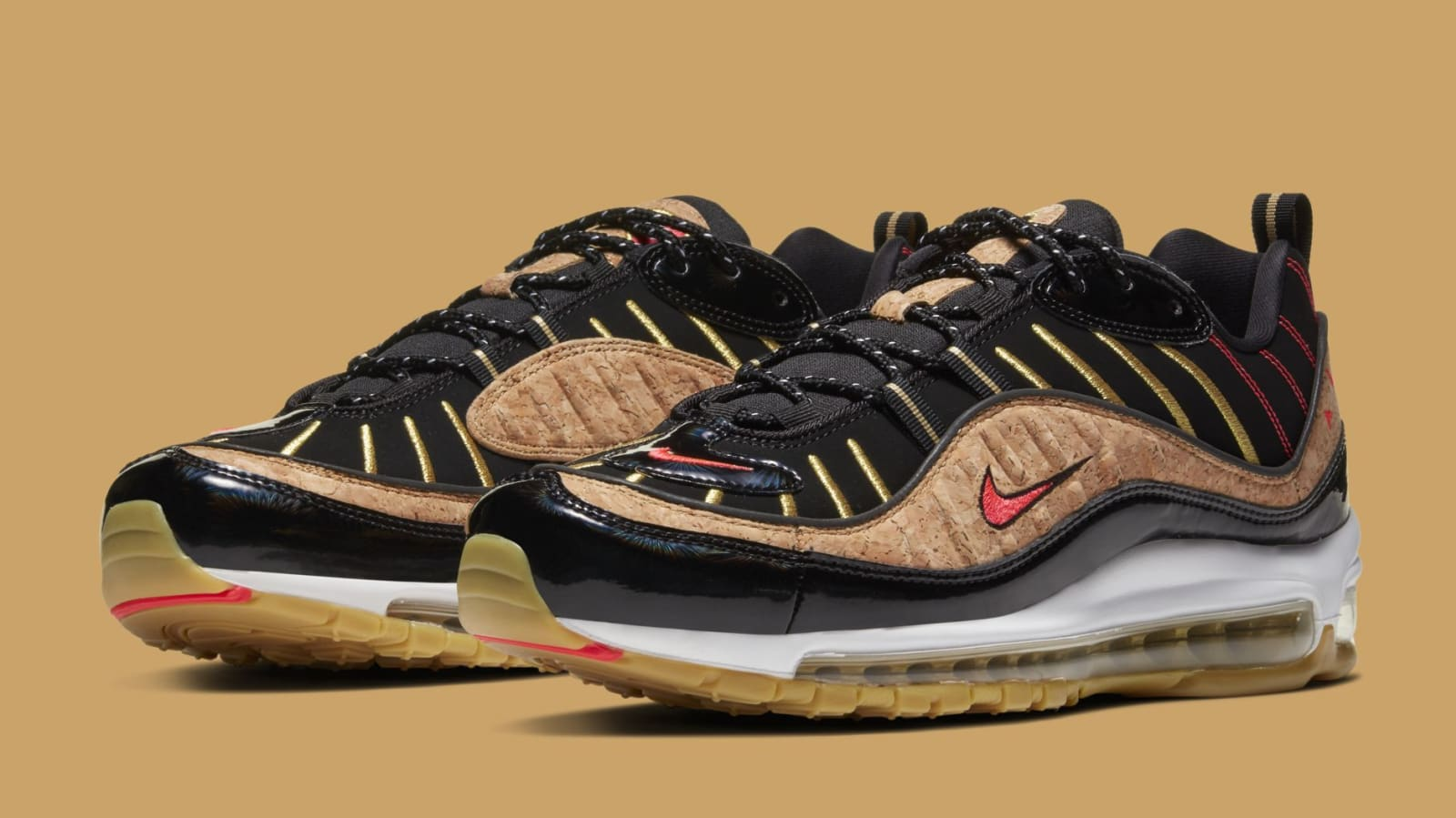 "Nike Air Max 98 Coming In Premium ""New Year's"" Colorway: Official Photos"