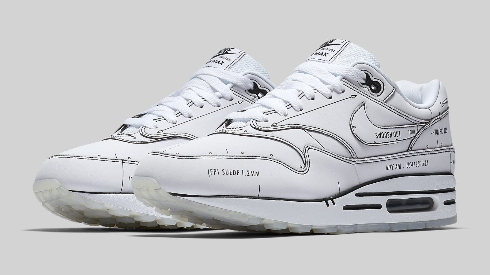 "Nike Air Max 1 ""Schematic"" Drops Next Week: Official s"