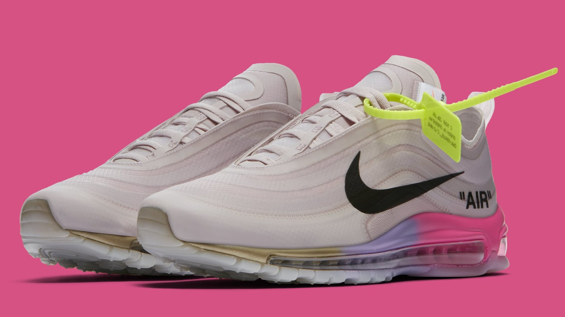 new style a0a64 3a609 ... sale serena williams off white x air max 97s released out of nowhere  92701 9e1ee