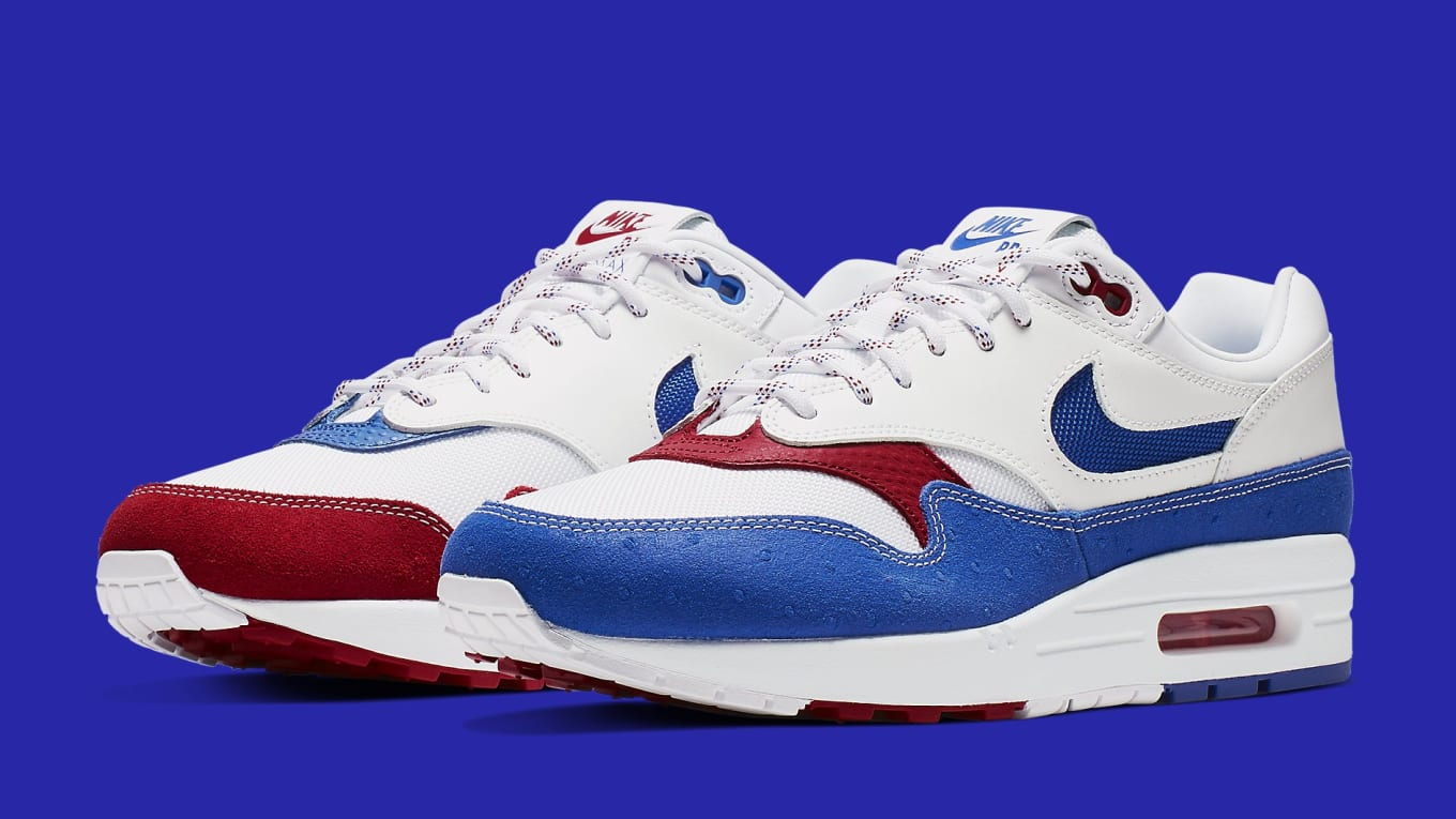 half off 264d4 11c80 Nike Air Max 1  Puerto Rico  Release Date June 1, 2019 CJ1621-100 ...