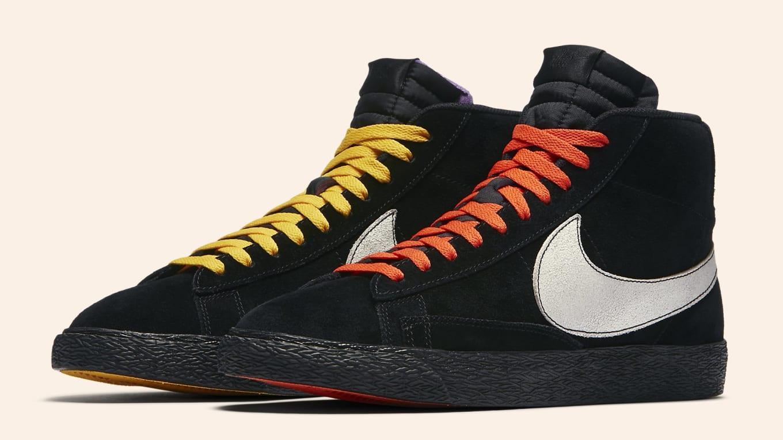 Nike Blazer Mid 'NY vs LA' Release Date Oct. 10, 2018 AT9978