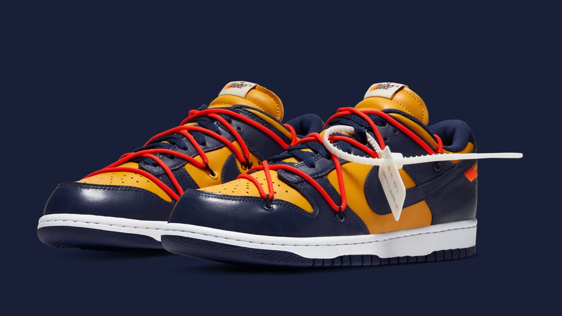 Hamburguesa Están familiarizados Contrato  Off-White x Nike Dunk Low Leather Collection Release Date | Sole ...