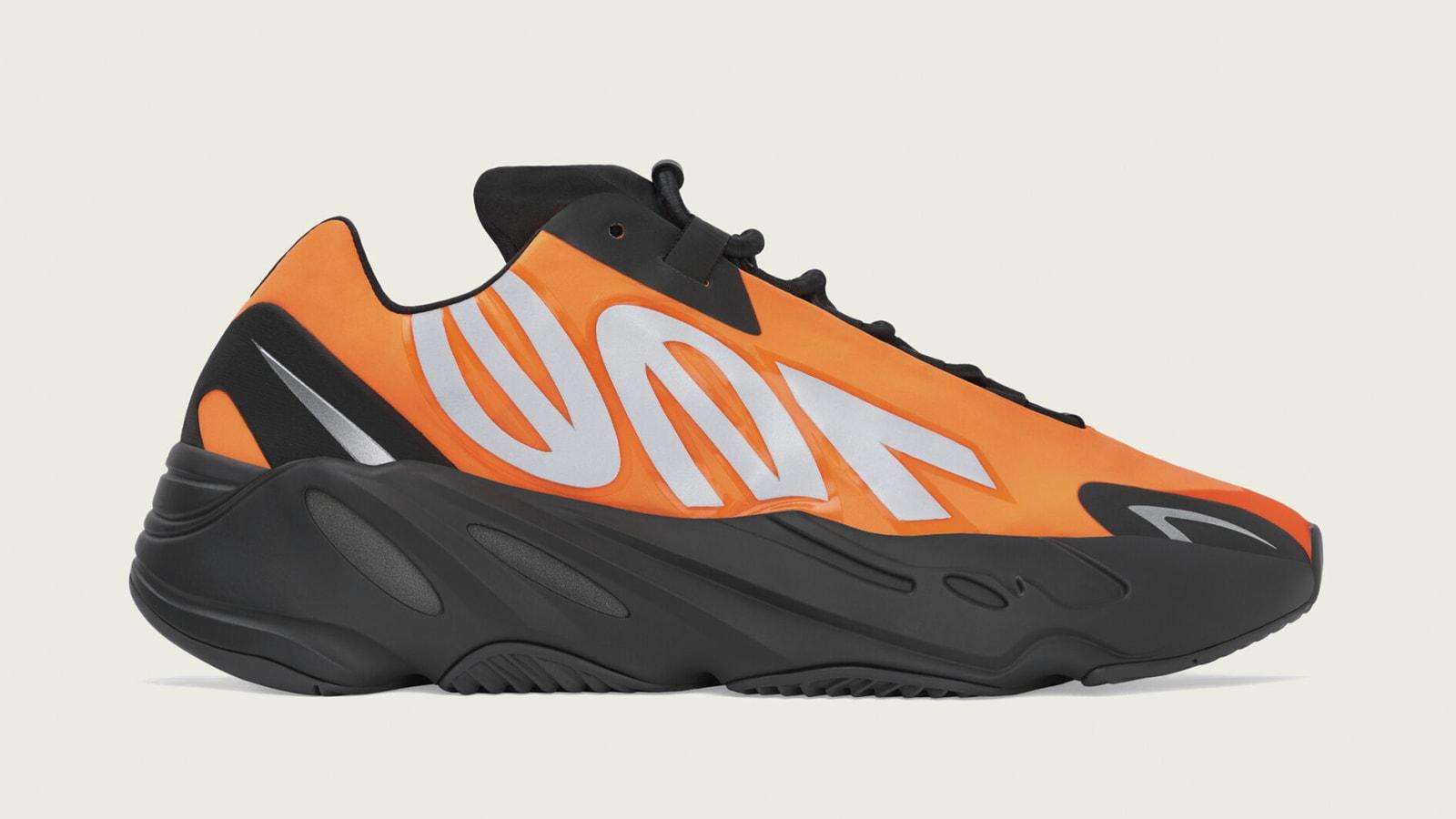 "Adidas Yeezy Boost 700 MNVN ""Orange"" Officially Revealed: Photos"