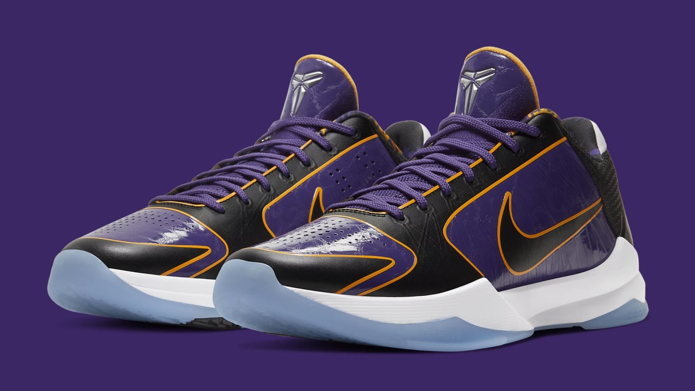 Nike Kobe 5 Protro Lakers Release Date CD4991-500 | Sole Collector