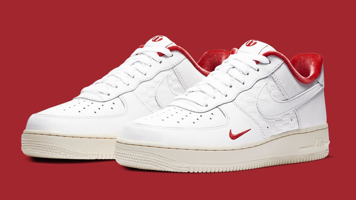 air force 1 nike rosse