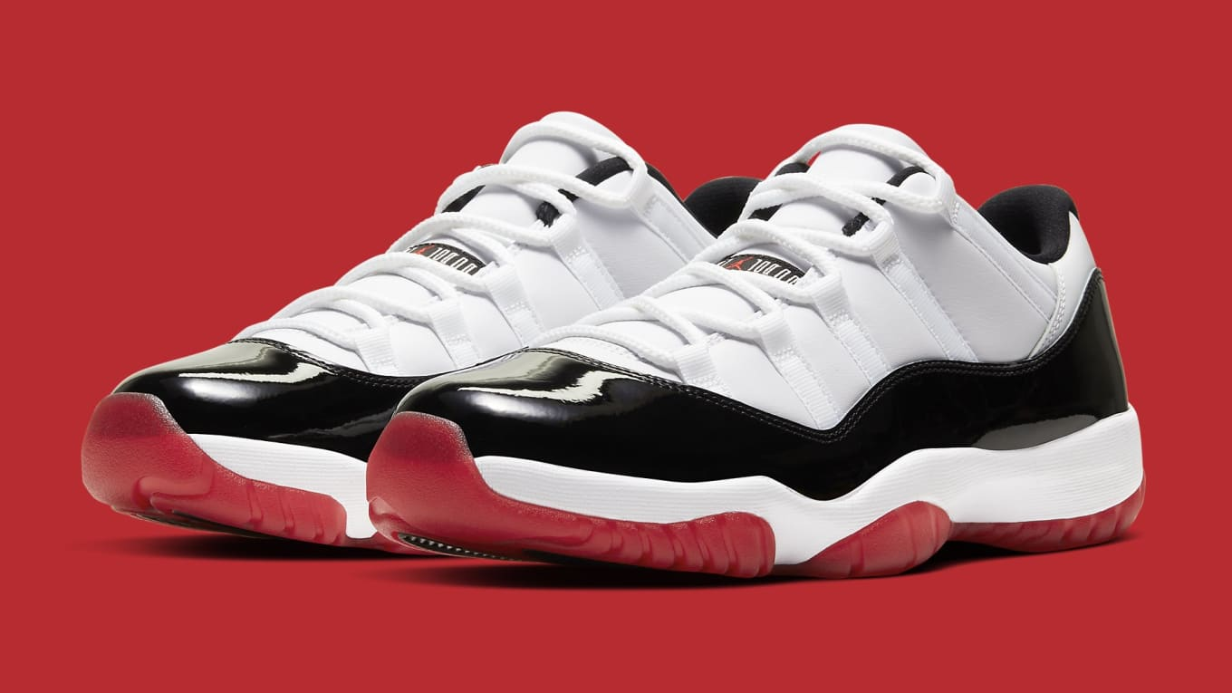 air jordan 11 low rouge