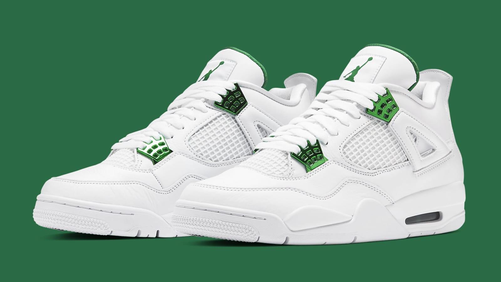 "Air Jordan 4 ""Metallic Green"" Release Info Confirmed: Photos"