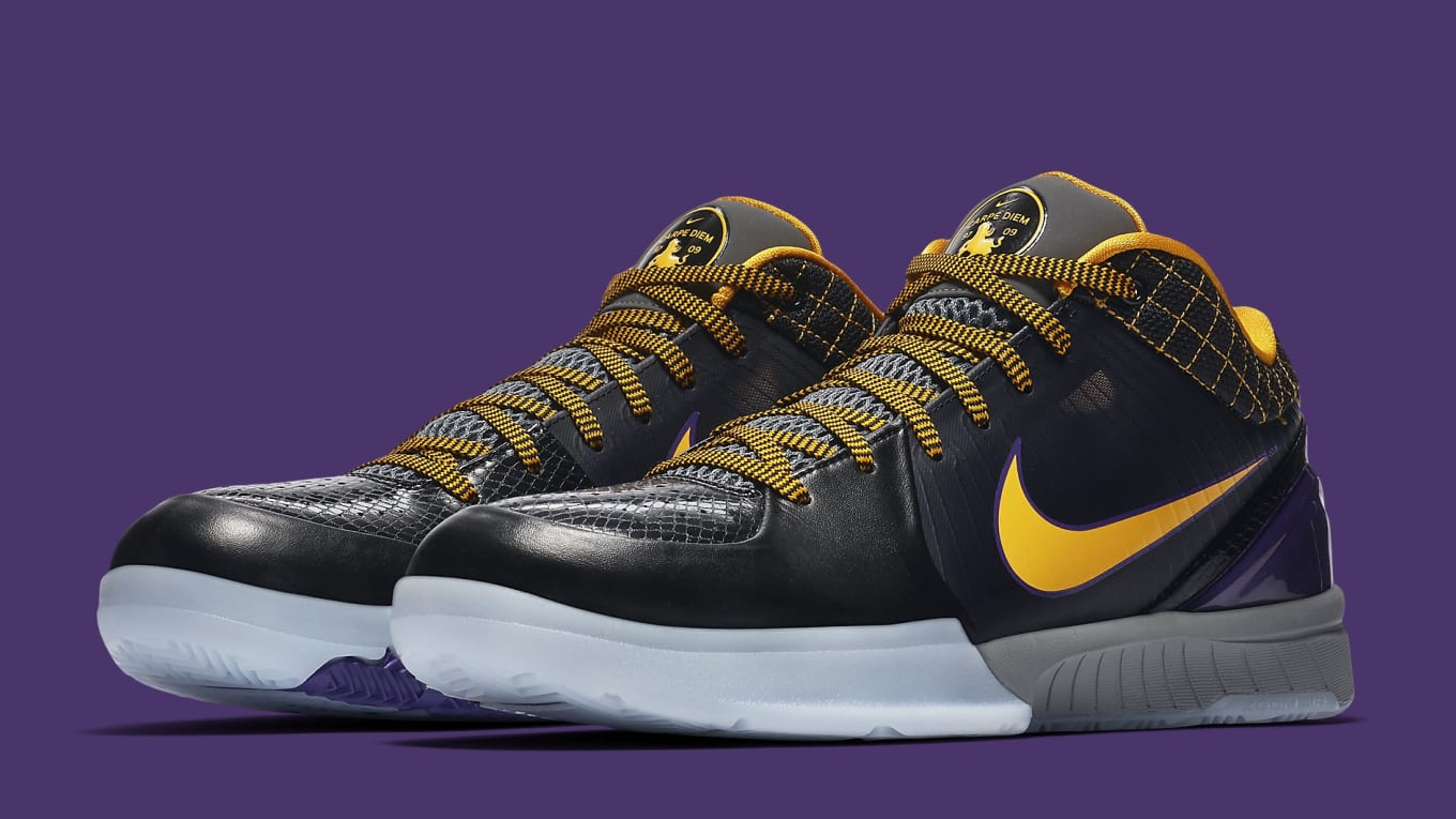 the best attitude 07e56 146a3 The  Carpe Diem  Nike Zoom Kobe 4 Protro Is Officially Releasing Next Week