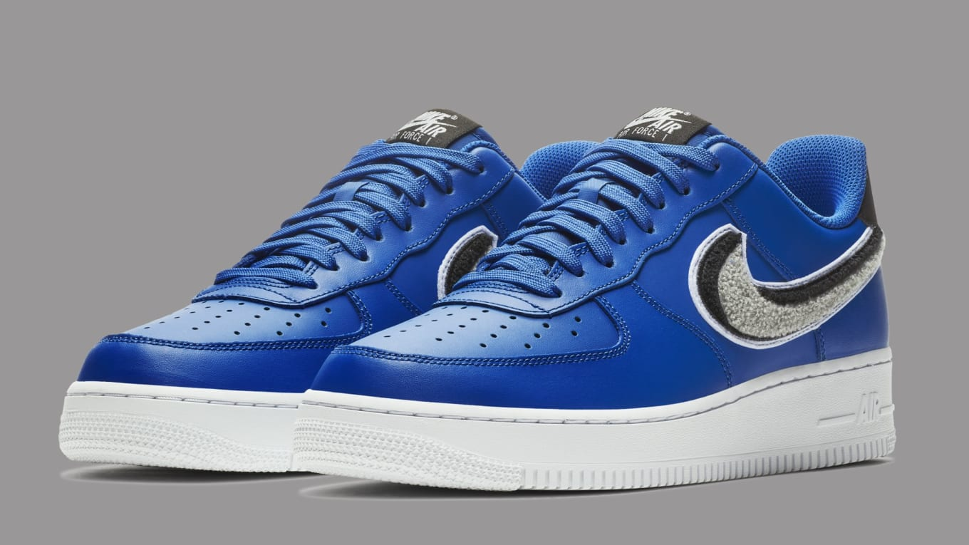 0997e43248a Nike Air Force 1 Low 3D Blue 823511-409 Release Date