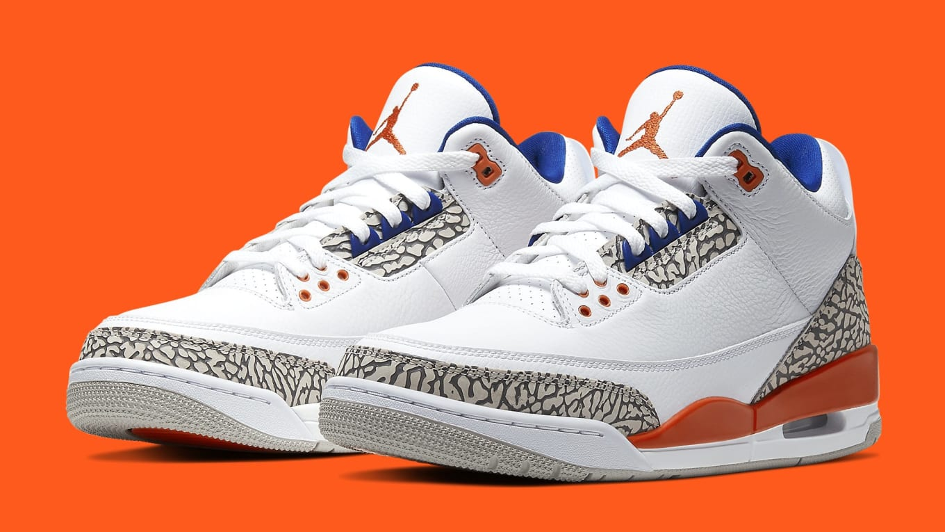 Jordans 3 Air Jordan 3 III Knicks Release Date 136064-148 | Sole Collector
