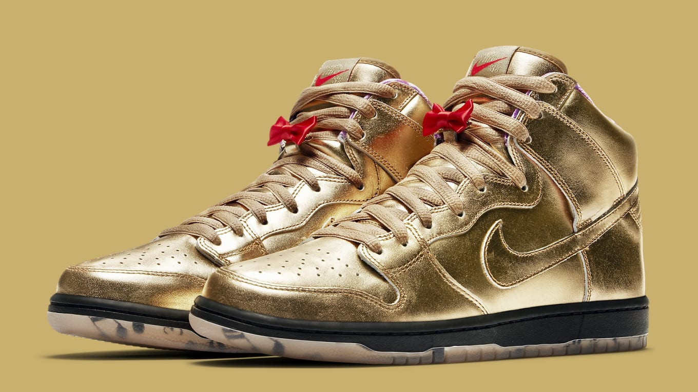 a29f6166168d Humidity x Nike SB Dunk High Trumpet Tricentennial Release Date ...