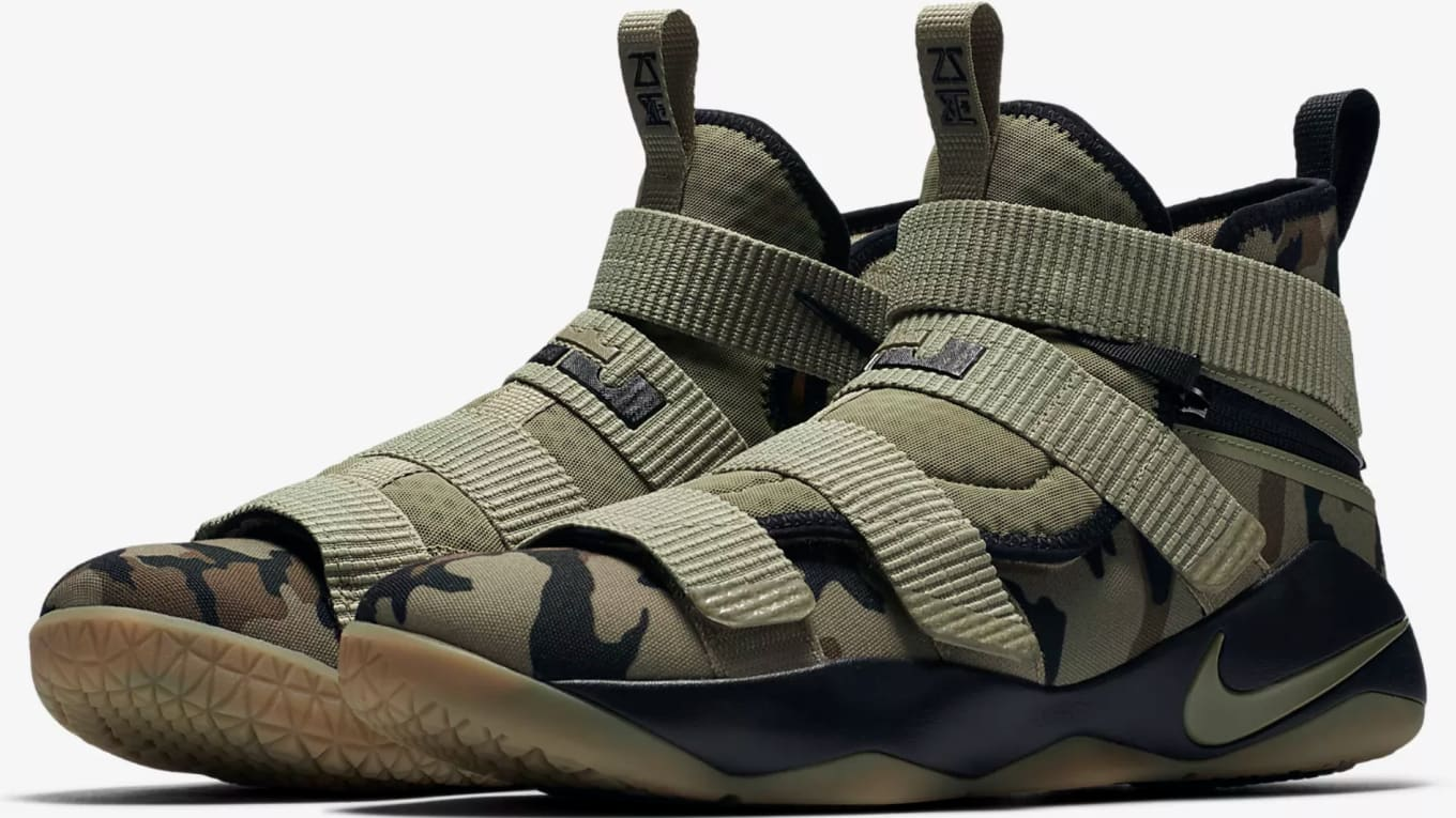 f7a6a069a540 Nike Designed a Soldier 11 for Athletes of All Abilities. Strap into the  new LeBron Solider 11 Flyease in four different colorways
