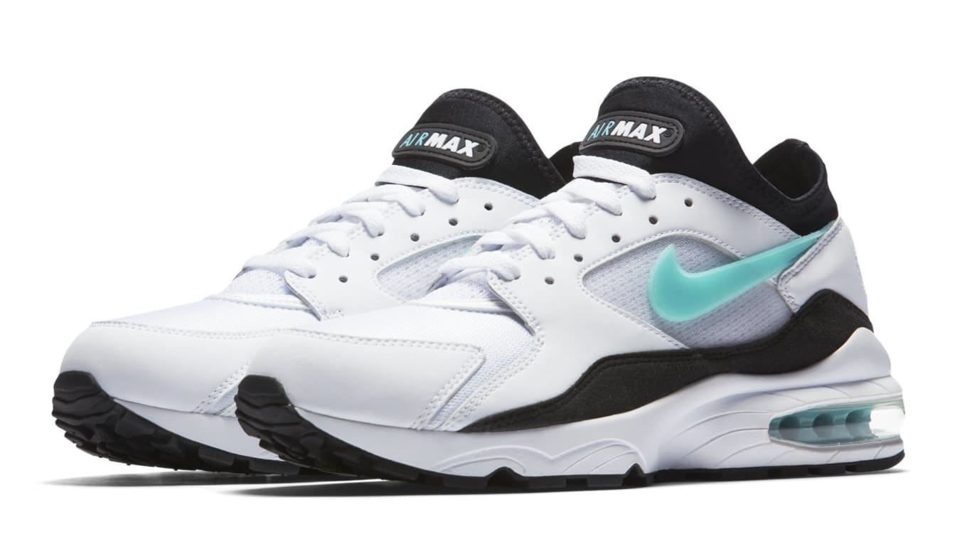 f8a8858e3d Nike Air Max 93 'Dusty Cactus' White/Sport Turquoise-Black 306551 ...
