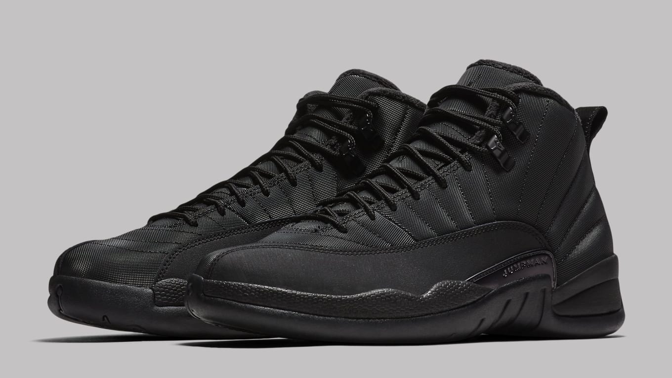 45be68fddaae3a Air Jordan 12 Black Winterized BQ6851-001 Release Date