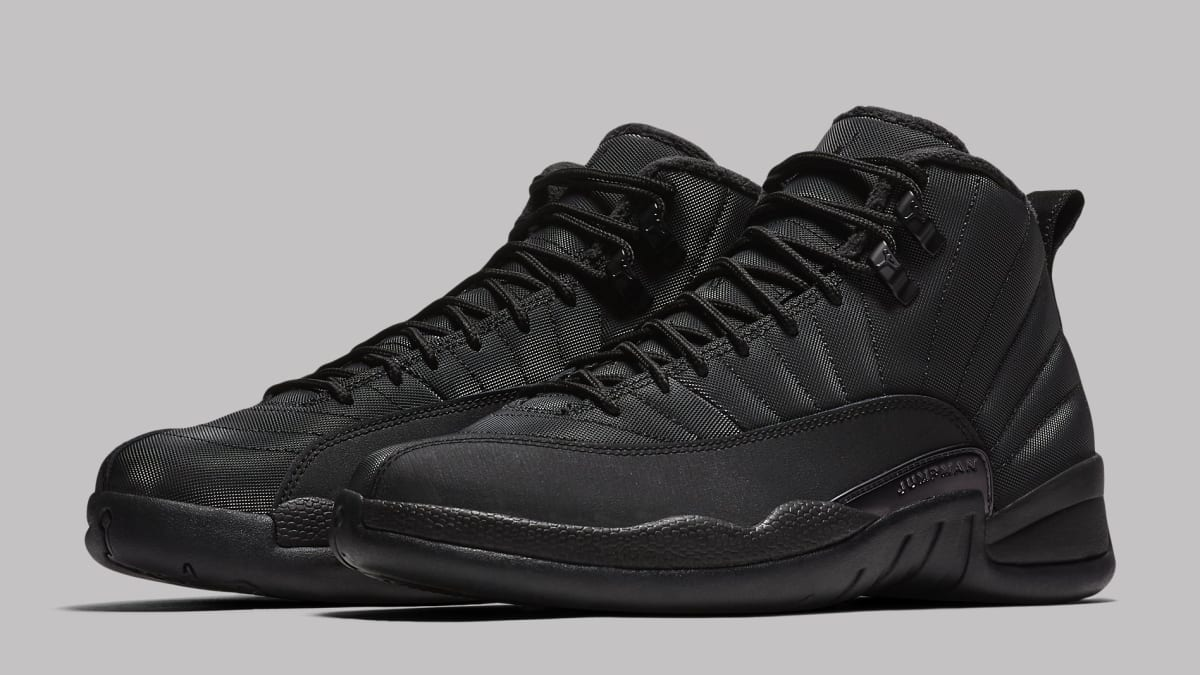 d80b70d9f9b0 Air Jordan 12 Black Winterized BQ6851-001 Release Date