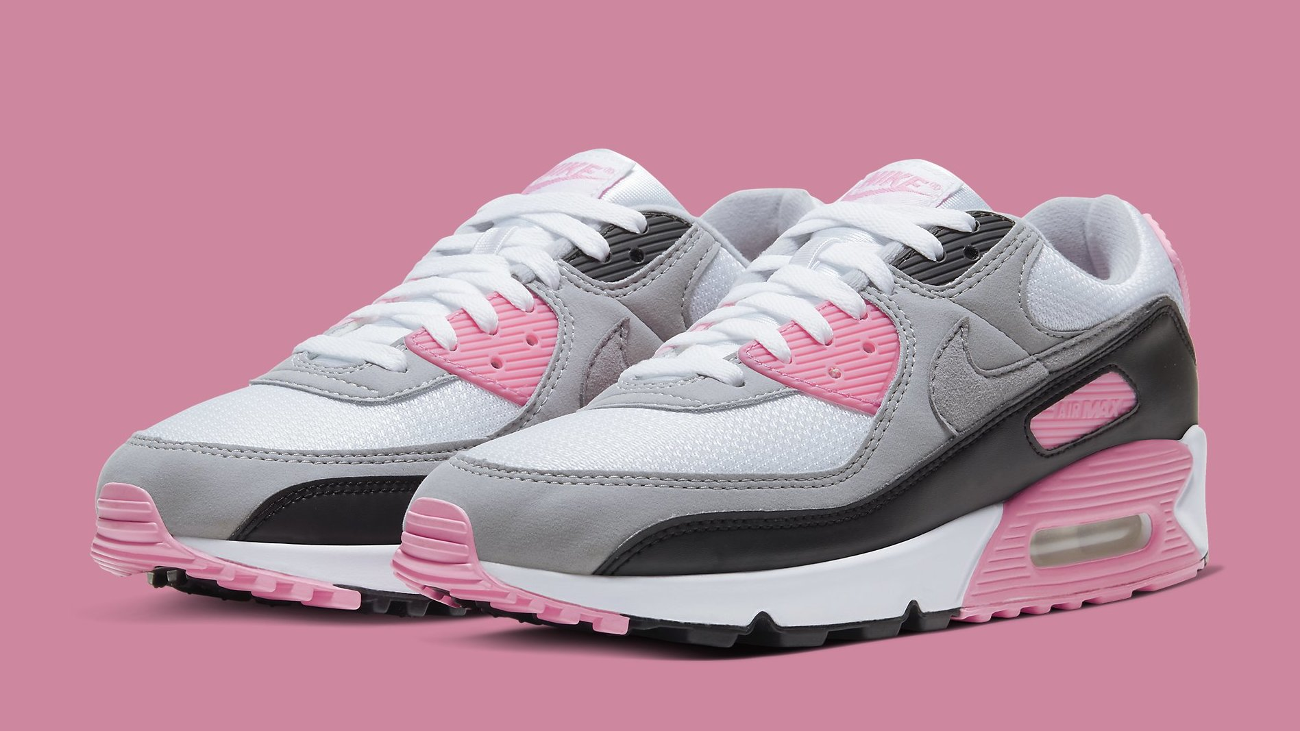 Consciente de Disponible Subir y bajar  Nike Air Max 90 Women's 'Rose' Release Date CD0881-101 | Sole Collector