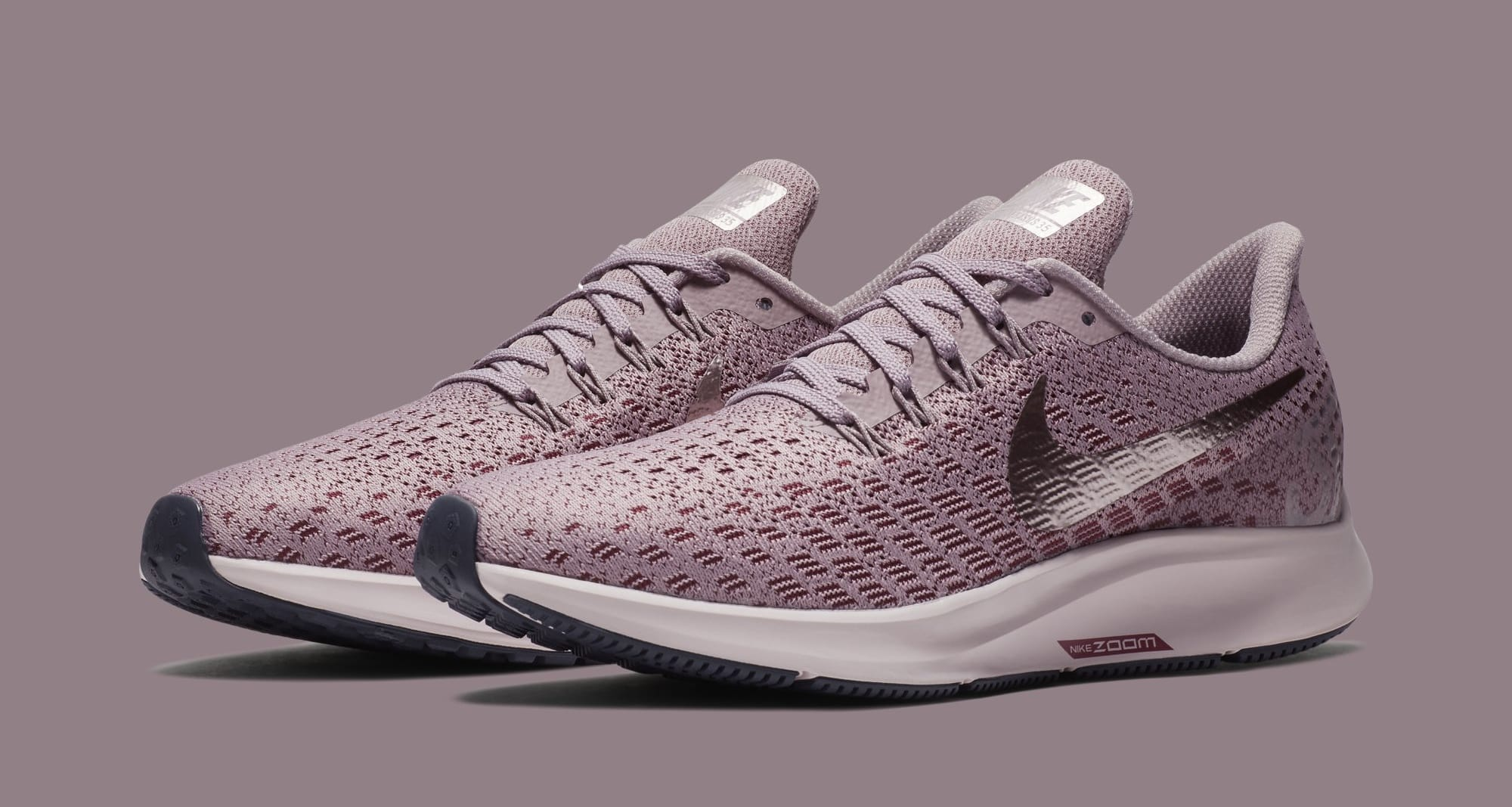 Nike Air Zoom Pegasus 35 Stretch-knit Sneakers - Dark gray Outlet Original Best  Sale 2a633c12bd614