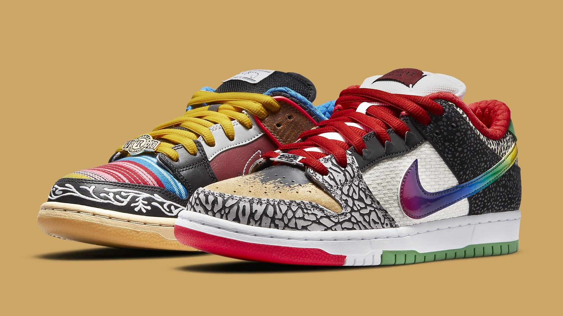 Nike SB Dunk Low 'What The Paul' Release Date CZ2239-600 | Sole ...