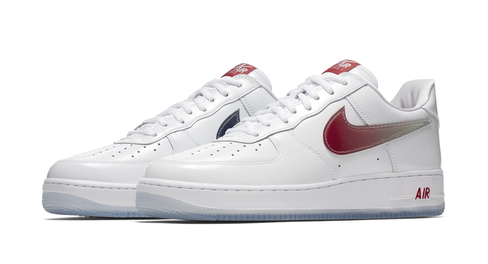 Nike Air Force 1 Low Retro Taiwan White Red Navy Limited Edition OG 845053105