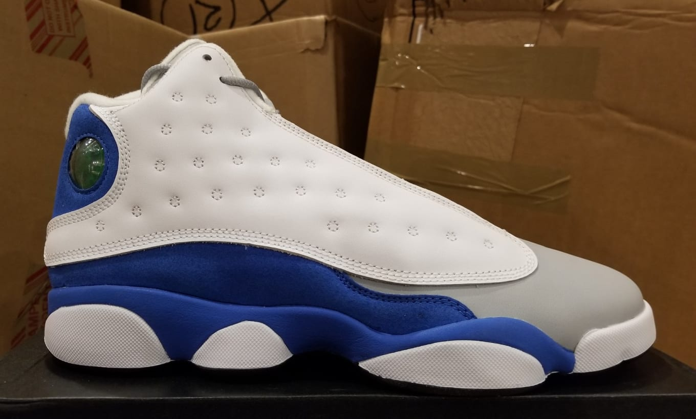 ce0be841cb7db Air Jordan 13 XIII GS Italy Blue Release Date 439358-107 Profile ...