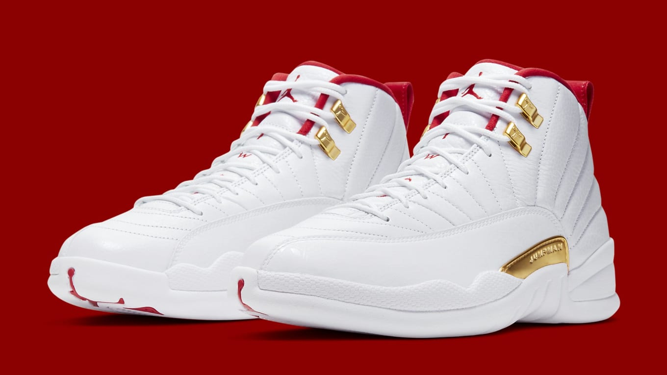 best value 06ad9 866a1 Air Jordan 12 Retro 'FIBA' Release Date 08/23/2019 | Sole ...
