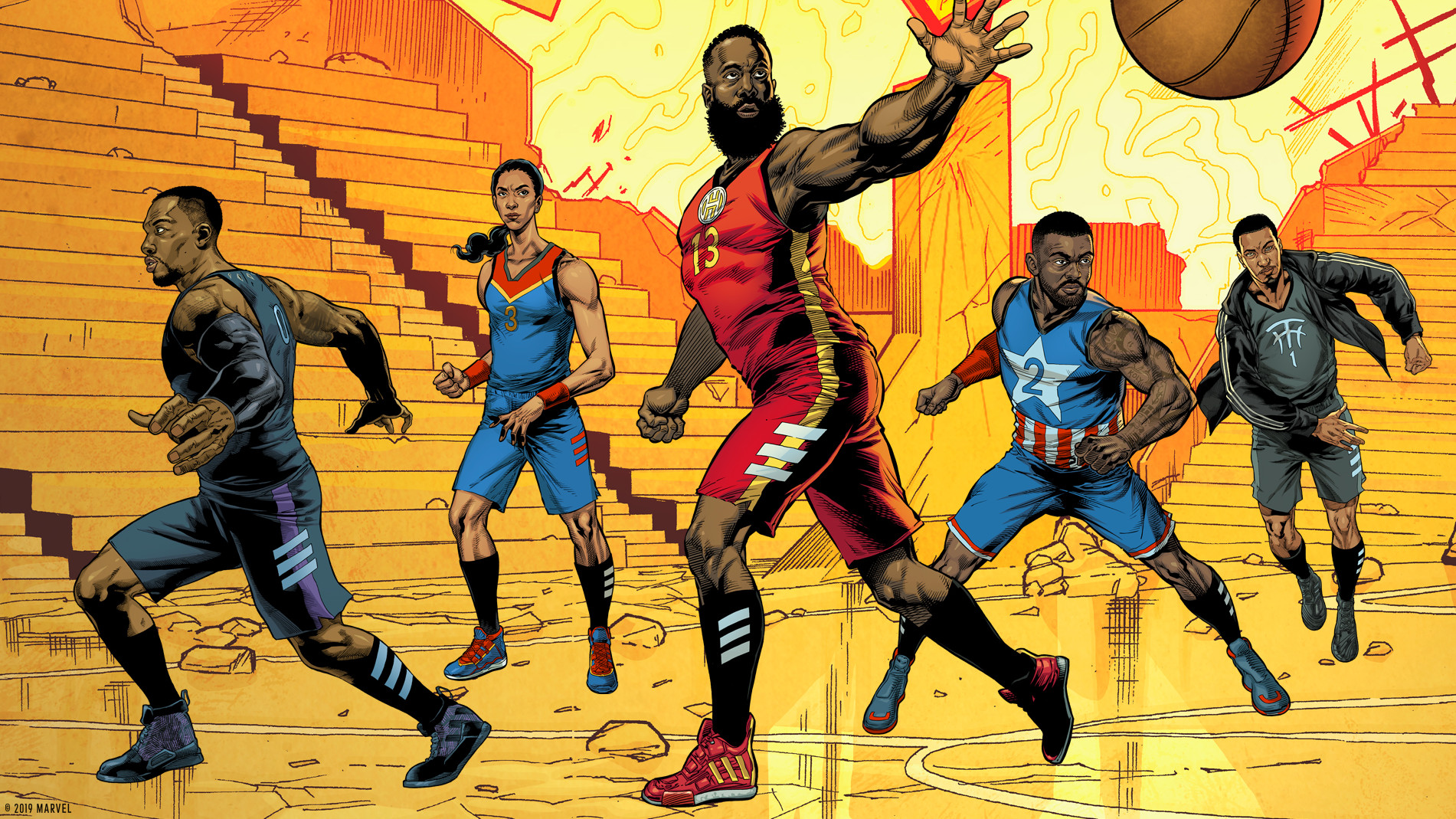 NYCC 2019: adidas and Foot Locker Team Up for 'Made 4 Marvel