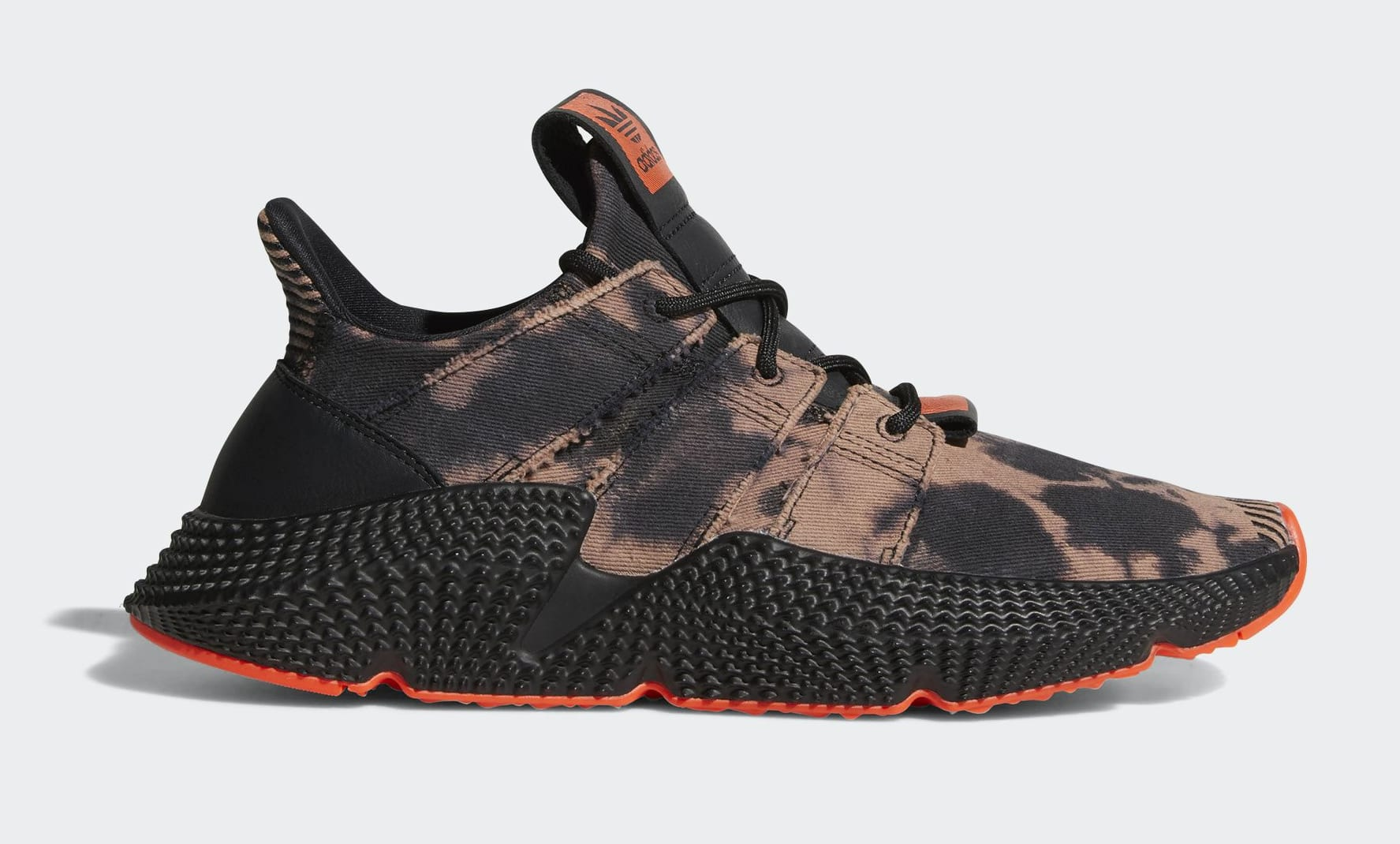 1caf8721ff1 adidas Mens PROPHERE Core Black Core Black Solar Red - DB1982
